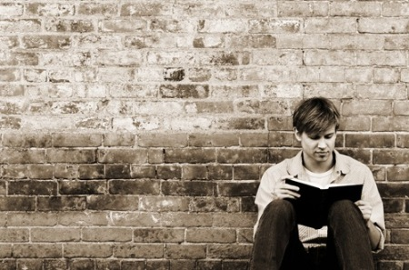 young-man-reading